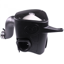 S&B FILTERS 75-5068D Cold Air Intake For 13-18 Dodge Ram 2500 3500 L6-6.7L Cummins Dry Extendable White