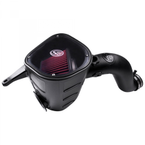 S&B FILTERS 75-5068 Cold Air Intake For 13-18 Dodge Ram 2500 3500 L6-6.7L Cummins Cotton Cleanable Red