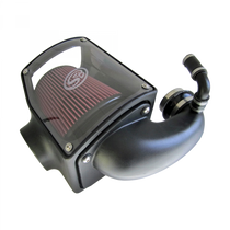 S&B FILTERS 75-5045 COLD AIR INTAKE FOR 92-00 GMC K-SERIES V8-6.5L DURAMAX OILED COTTON CLEANABLE RED