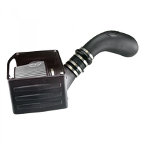 S&B FILTERS 75-5036D COLD AIR INTAKE FOR 99-06 GMC SIERRA 4.8L, 5.3L, 6.0L DRY DRY EXTENDABLE WHITE