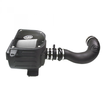 S&B FILTERS 75-5021D COLD AIR INTAKE FOR 07-08 GMC SIERRA 4.8L, 5.3L, 6.0L DRY DRY EXTENDABLE WHITE