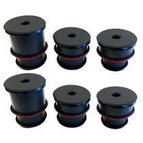 S&B FILTERS 81-1008 Silicone Body Mount Kit For 1980-1996 Ford F-150 and 1980-1997 F-250 / F-350 6 Pc