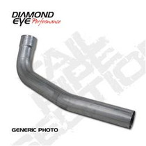 DIAMOND EYE MANUFACTURING 261005 EXHAUST TAIL PIPE 1994-EARLY 2007 DODGE 5.9L CUMMINS 2500/3500 (ALL CAB AND BED LENGTHS)