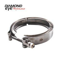 DIAMOND EYE MANUFACTURING VC400HX40 EXHAUST CLAMP PERFORMANCE DIESEL EXHAUST PART-V-BAND CLAMP FOR HX40 STYLE TURBO