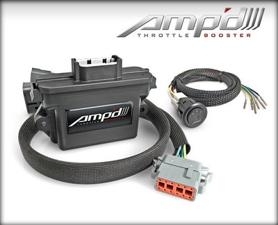 AMP'D 18862  Throttle Booster w/ Switch Kit