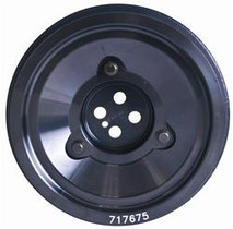 FLUIDAMPR 717675 Ford Powerstroke 6.0L Dual Alternator Pulley Pulley And Hardware