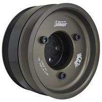 FLUIDAMPR 800211 Ford PowerStroke 6.4L Steel Black Zinc