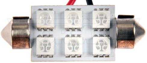 DORMAN 212B-SMD BLUE 212 6 LED BULB UNIVERSAL - 212 BULB