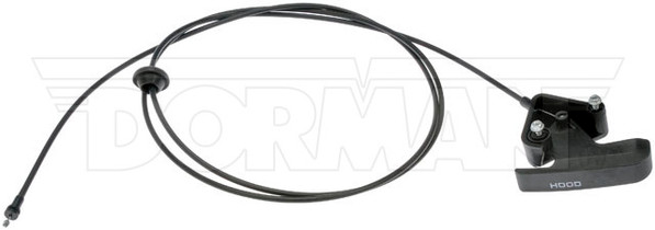 DORMAN 912-201 HOOD RELEASE CABLE WITH HANDLE 2006-2009 DODGE RAM