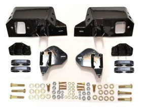 CST PERFORMANCE SUSPENSION DUAL SHOCK BRACKETS WITH BLACK CLAMPS CSS-C5-7 2011-2019 GM 2500HD/3500HD