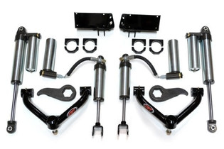 "CST PERFORMANCE SUSPENSION MID-TRAVEL LEVELING KIT WITH 2.5"" ADJUST. RES. SHOCKS CSK-C27-1 2011-2019 GM 2500HD 2WD/4WD"
