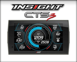 EDGE PRODUCTS 84130-3 INSIGHT CTS3 DIGITAL GAUGE MONITOR 1994-2020 FORD, 1989-2020 DODGE/RAM TRUCKS | 1999-2019 GM TRUCK & SUV