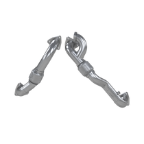 MBRP FAL2761 TURBO UP PIPE KIT FOR 08-10 FORD F250/350/450 6.4L POWERSTROKE ALUMINIZED STEEL CARB EO D-763-3