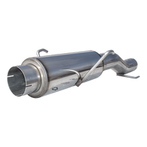 MBRP MK96116 High-Flow Muffler Assembly T409 Stainless Steel For 04-07 Dodge Ram Cummins 600/610 fits to stock only