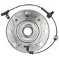 MOOG 515144 WHEEL BEARING & HUB ASSEMBLY 2011-2019 GM 3500HD 4WD (DUAL REAR WHEEL)