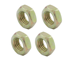 PROFORMANCE PROS ALL-18255 3/8-24 LH Steel Jam Nuts 4pk