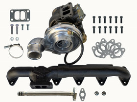 DPS DPS-FC-TUR-MAN TURBO & EXHAUST MANIFOLD PACKAGE FOR FUMMINS SWAP (FORD / CUMMINS) 12V 24V 5.9