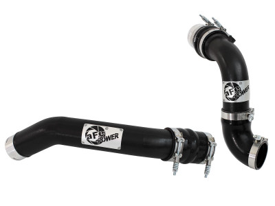 AFE POWER 46-20144-B BladeRunner 3 IN Aluminum Hot and Cold Charge Pipe Kit Black Ford Diesel Trucks 11-16 V8-6.7L (td)
