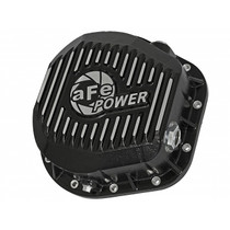 AFE POWER 46-70022 Pro Series Differential Cover Black w/ Machined Fins (10.25/10.50-12 Bolt Axle) Ford F-250/F-350/Excursion 86-19 V8-7.3L/6.0L/6.4L/6.7L (td)
