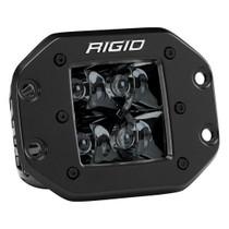 RIGID INDUSTRIES 211213BLK Spot Flush Mount Midnight D-Series Pro