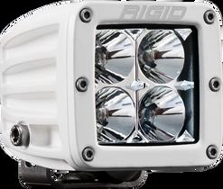 RIGID INDUSTRIES 601113 Hybrid Flood Surface Mount White Housing D-Series Pro