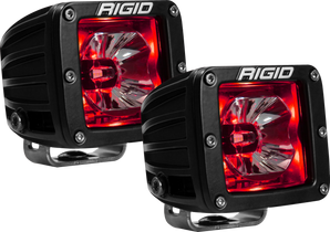 RIGID INDUSTRIES 20202 LED Pod with Red Backlight Radiance