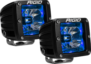 RIGID INDUSTRIES 20201 LED Pod with Blue Backlight Radiance