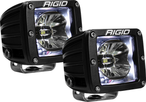 RIGID INDUSTRIES 20200 LED Pod with White Backlight Radiance