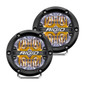 RIGID INDUSTRIES 36118 360-Series 4 Inch Led Off-Road Drive Beam Amber Backlight Pair