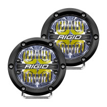 RIGID INDUSTRIES 36117 360-Series 4 Inch Led  Off-Road  Drive Beam White Backlight Pair