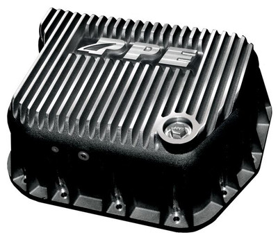 PPE 228051010 DEEP BRUSHED TRANSMISSION PAN 1989-2007 DODGE 5.9L CUMMINS (EQUIPPED WITH 727 / 518 / 47RE / 47RH / 48RE)