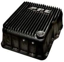 PPE 128051020 DEEP ALLISON TRANSMISSION PAN - BLACK 2001-2019 GM 6.6L DURAMAX (EQUIPPED WITH ALLISON 1000 / 2000 / 2400)