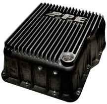 PPE 128051010 DEEP ALLISON TRANSMISSION PAN - BRUSHED 2001-2019 GM 6.6L DURAMAX (EQUIPPED WITH ALLISON 1000 / 2000 / 2400)