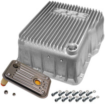 PPE 128051000 DEEP ALLISON TRANSMISSION PAN - RAW 2001-2019 GM 6.6L DURAMAX (EQUIPPED WITH ALLISON 1000 / 2000 / 2400)