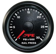 PPE 513010000 Fuel Rail Pressure Gauge GM 01-05