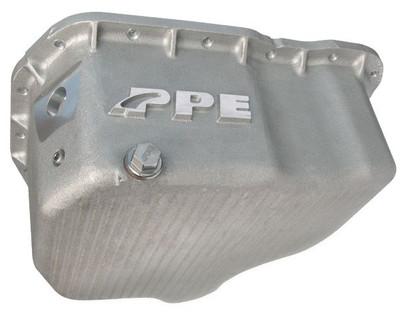 PPE 114052000 HIGH CAPACITY CAST ALUMINUM OIL PAN 2001-2010 GM 6.6L DURAMAX