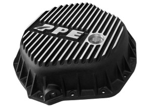 PPE 138051010 HEAVY DUTY DIFFERENTIAL COVER - BRUSHED 2001-2019 GM DURAMAX | 2003-2018 DODGE CUMMINS* (WITH AA14-11.5 AXLES)