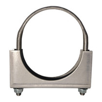"""AP EXHAUST H312 EXTRA HEAVY DUTY 3.5"""" SADDLE CLAMP UNIVERSAL - 3-1/2"""" HEAVY DUTY CLAMP"""