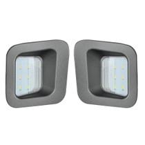 RECON 264903 HIGH POWER LED LICENSE PLATE LIGHT KIT 2003-2019 DODGE RAM