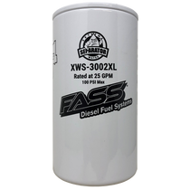 FASS XWS-3002 XL EXTENDED LENGTH EXTREME WATER SEPARATOR FOR FASS TITANIUM / SIGNATURE SERIES PUMPS (REQUIRES FASS PF-3001 XL - SEE NOTES)