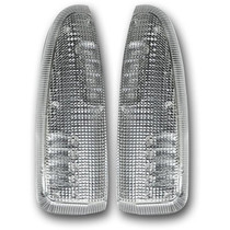 RECON 264120WHCL CLEAR/WHITE LED MIRROR LIGHTS 2003-2007 FORD F-250/350 SUPER DUTY   2003-2005 FORD EXCURSION