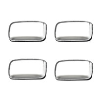 RECON 264138CL CLEAR 4-PC LED DUALLY FENDER LIGHTS 2015-2019 GM 2500/3500 HD DUALLY