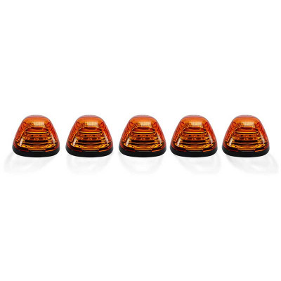 RECON 264143AMHP AMBER LENS AMBER OLED BAR-STYLE CAB LIGHT KIT 1999-2016 FORD SUPER DUTY (NOT EQUIPPED WITH OE CAB LIGHTS)