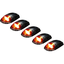 RECON 264146CLHP CLEAR LENS AMBER OLED BAR-STYLE CAB LIGHT KIT 2003-2018 DODGE RAM 2500/3500 (NOT EQUIPPED WITH OE CAB LIGHTS)