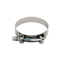 "MISHIMOTO MMCLAMP-275 STAINLESS STEEL T-BOLT CLAMP, 2.60"" – 2.91"" (66MM – 74MM)"