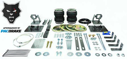 PACBRAKE HP10181 HEAVY DUTY REAR AIR SUSPENSION KIT FOR 05-10 FORD F-250/350 SUPER DUTY (4WD)