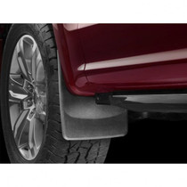 WEATHERTECH 110044 NO-DRILL DIGITALFIT FRONT MUDFLAPS 2015-2019 FORD F-150 (WITH FENDER LIP MOLDING)