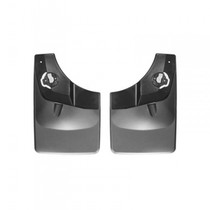 WEATHERTECH 120044 NO-DRILL DIGITALFIT REAR MUDFLAPS 2015-2020 FORD F-150 (WITH FENDER LIP MOLDING)