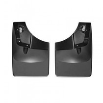 WEATHERTECH 120050 NO-DRILL DIGITALFIT REAR MUDFLAPS 2015-2020 FORD F-150 (WITHOUT FENDER LIP MOLDING)