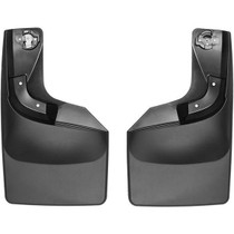 WEATHERTECH 120065 NO-DRILL DIGITALFIT REAR MUDFLAPS 2017-2021 FORD SUPER DUTY (SRW - WITHOUT FACTORY FENDER FLARES)